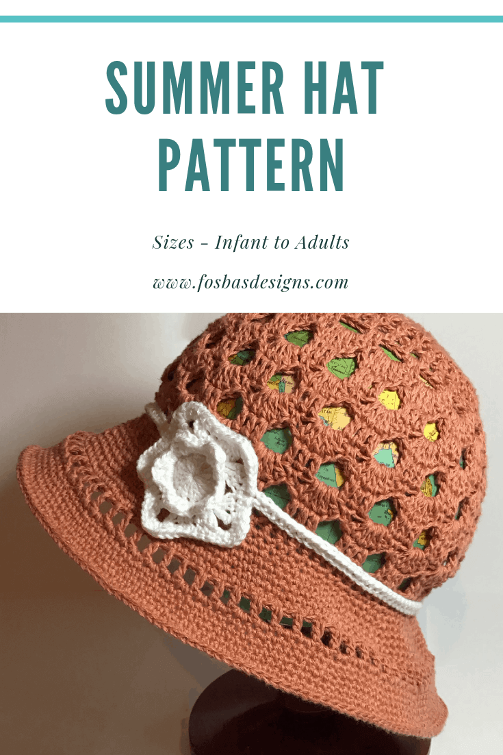 Crochet Summer Hat Pattern