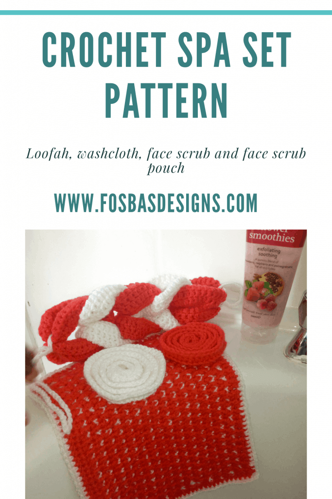 Crochet SPA set Pattern