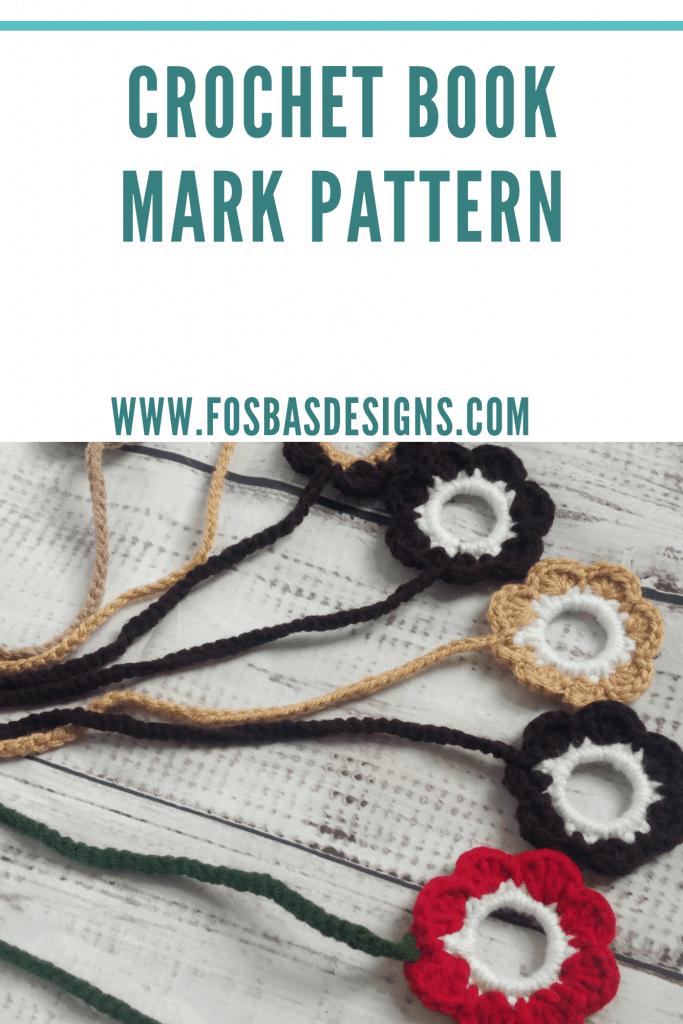 Free Crochet bookmark pattern