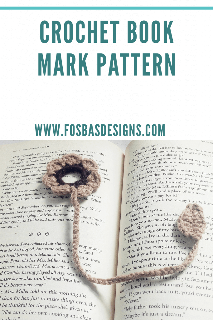 Easy book mark pattern to try out.