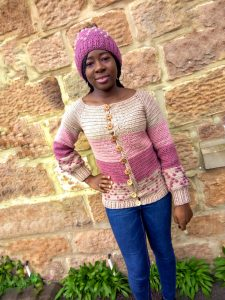 Free Crochet Sweater Pattern: One piece crochet cardigan pattern