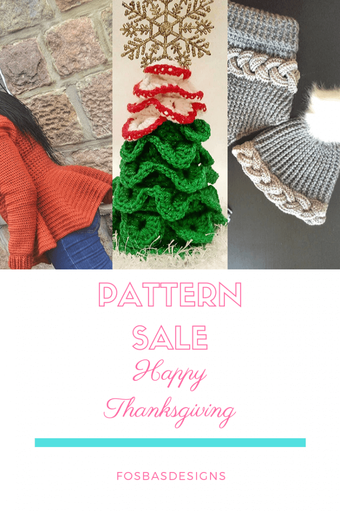 crochet pattern sales