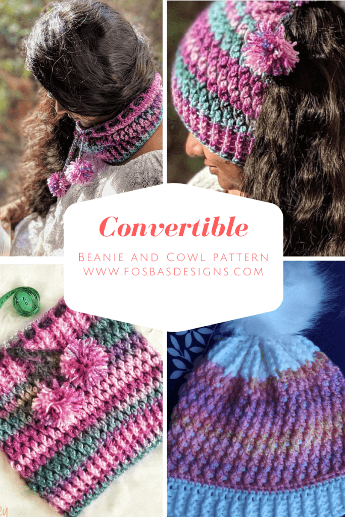 crochet Beanie and Cowl Pattern