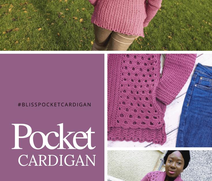 Bliss Pocket Cardigan Pattern