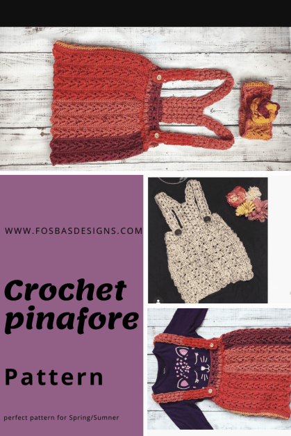 Crochet Pinafore Pattern
