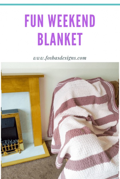 Quick and Easy Crochet Blanket