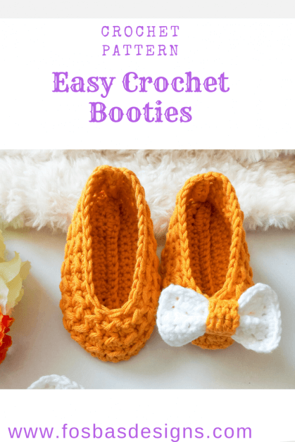 Easy Crochet Booties Pattern, This fast technique would ensure an equal size and shape of booties. you do not need to worry about tension or having mismatch baby booties again.