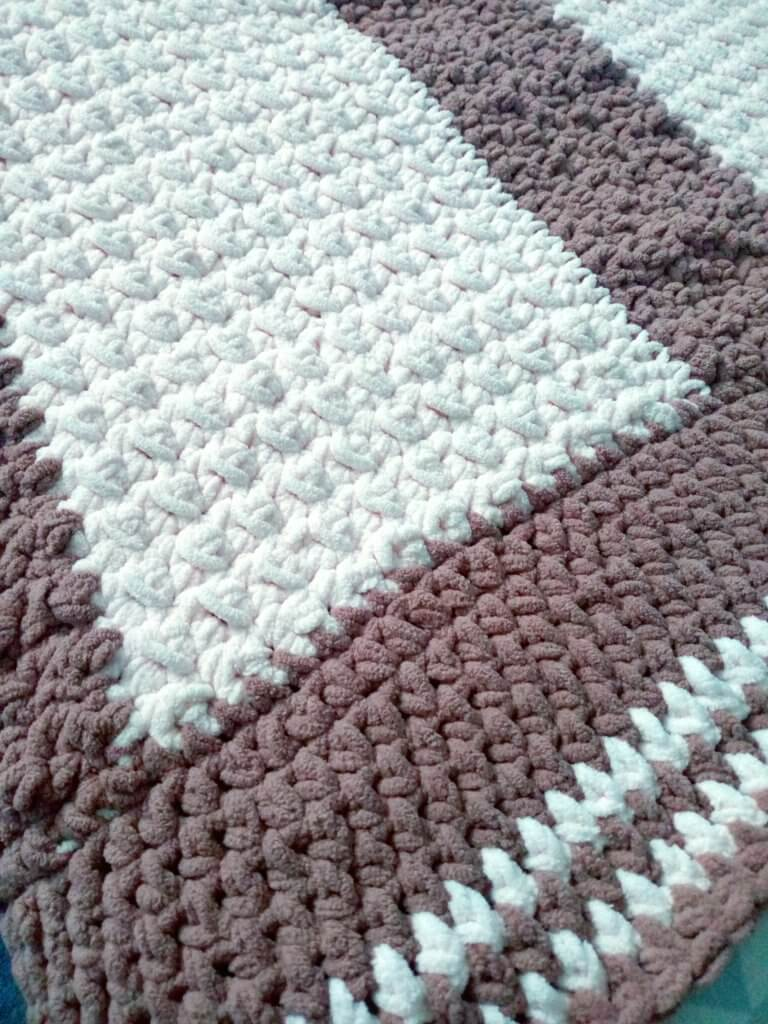 Easy and Fast crochet Afghan