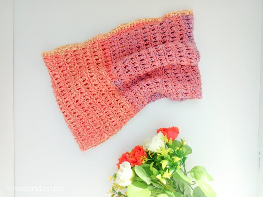 One Skein Neck Warmer.