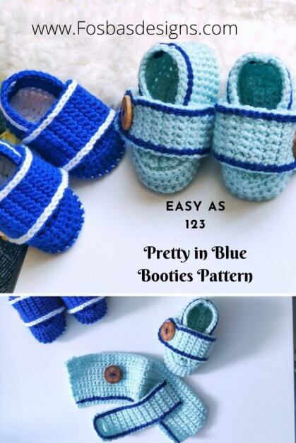 Easy to follow Crochet Booties Pattern worked in rows/flat to create a uniform and similar shape for your little one. No need to worry about your tension, you are now covered.