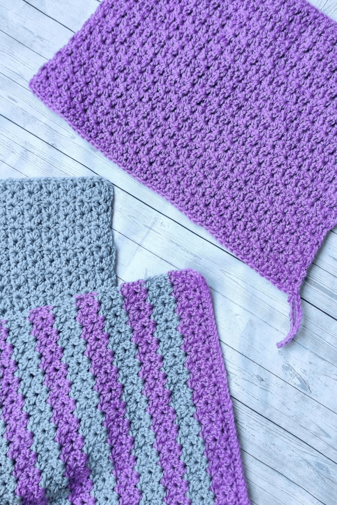 Easy to Follow Crochet wash cloths perfect for Mother's day gift. Pattern is easy to follow and can be adapted to any measurements.
