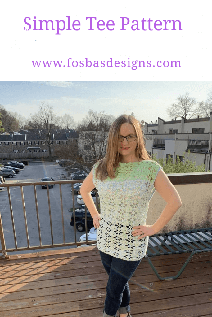 Easy Summer Tee pattern