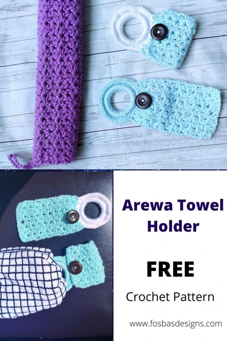 Free Towel Holder Pattern