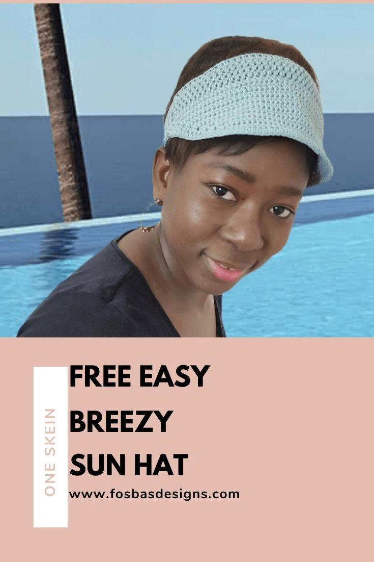 Crochet Sun Hat: Free Pattern