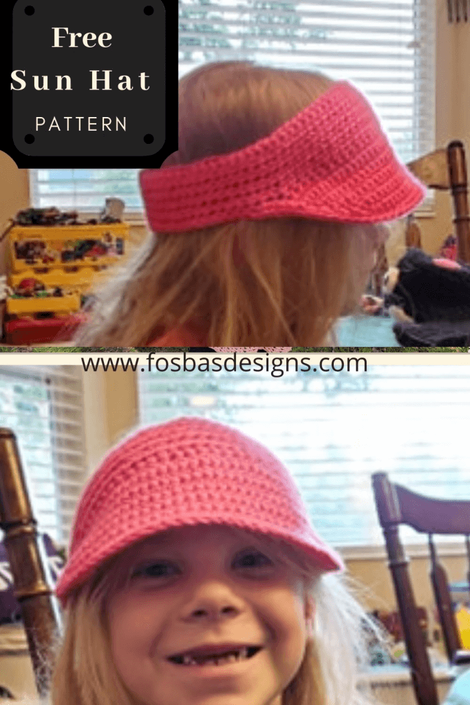 Free Crochet Ear warmer/sun hat Patterns