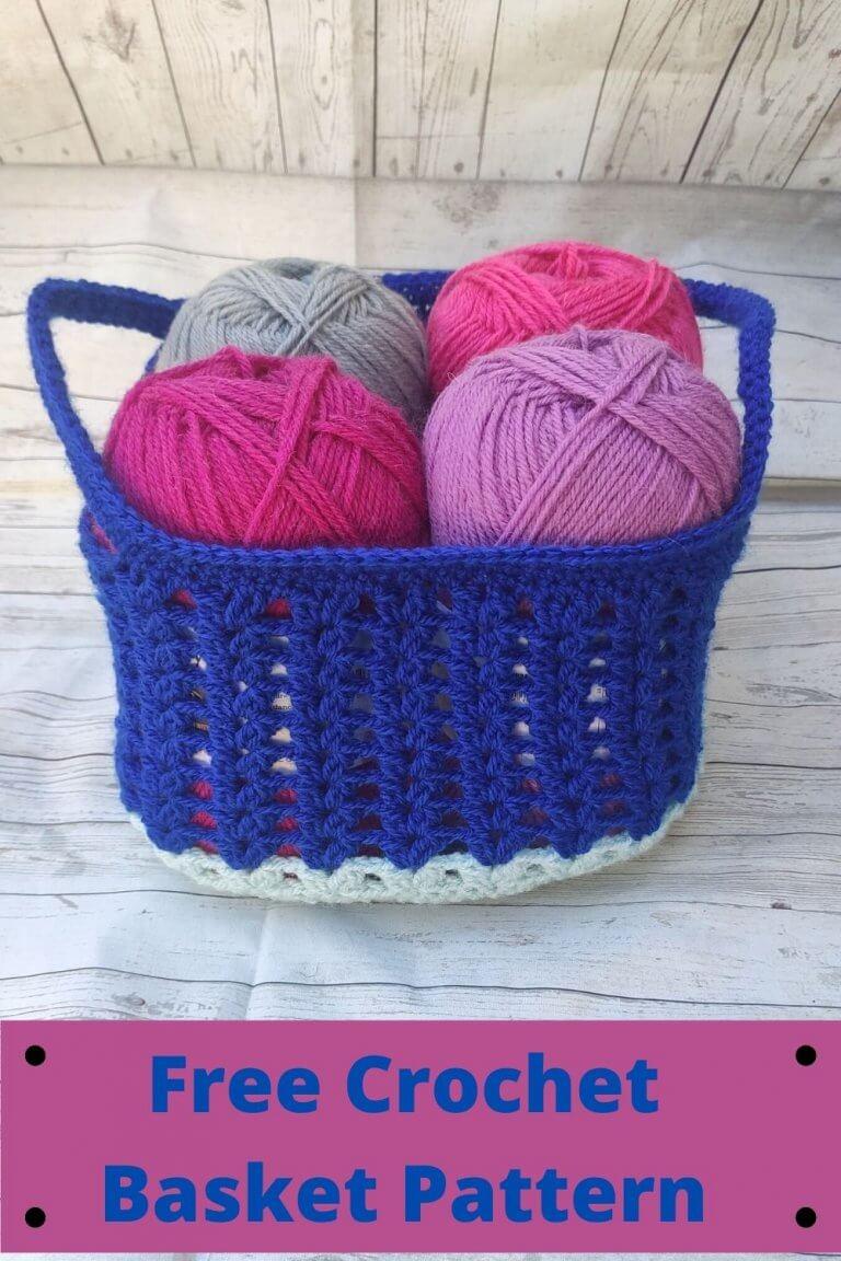 Free Crochet Pattern: Crochet Basket