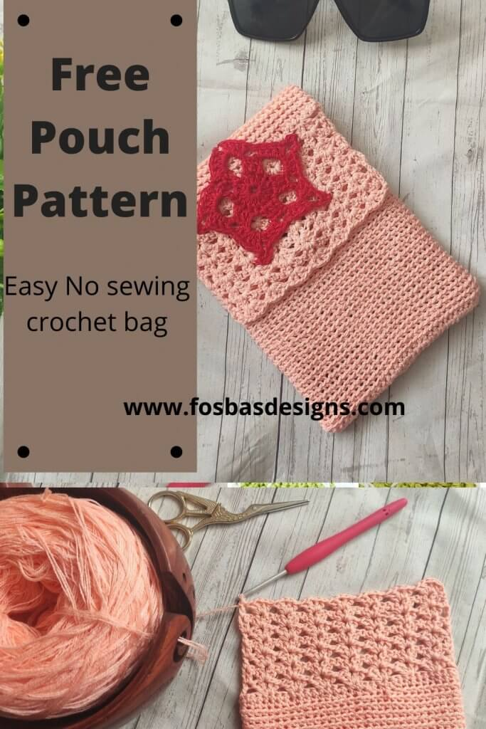 Free and Easy Crochet Bag Pattern to make for your self or loved ones. This easy to follow crochet pattern  is beginner friendly and works up so fast. You can make on using any yarn weight an hook size.  #crochetbags #freebagpattern