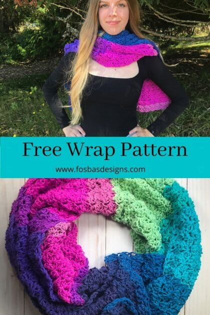 Free wrap Pattern as part of summer vibes blog hop