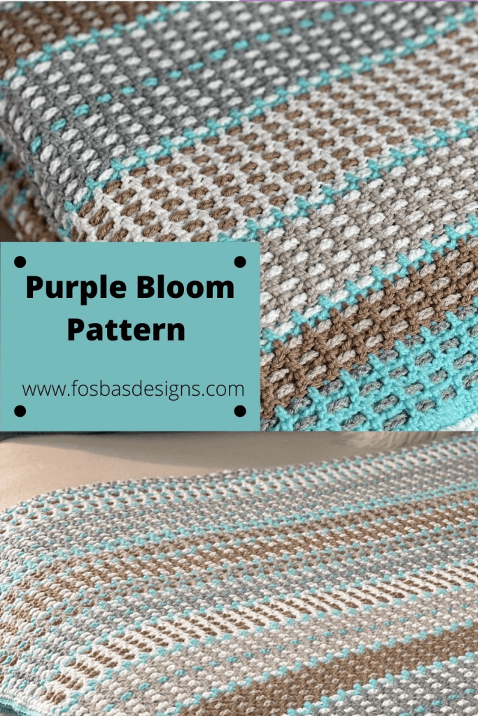Easy Crochet Afghan Pattern to make while watching film.