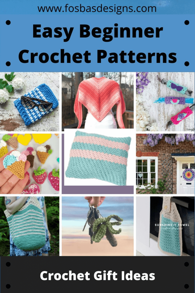 Easy Crochet patterns to try out.