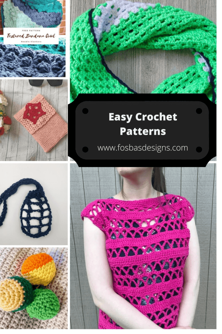 One Skein Patterns : 12 Free Projects to make.