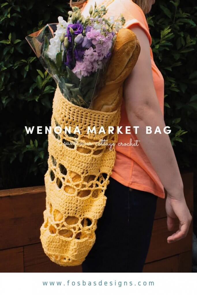 Easy Crochet Market Bag Pattern to try out.