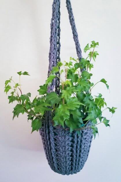 Easy Planter Pattern as part of 27 PDF patterns in Summer Blog Hop