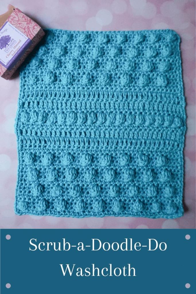 Easy Crochet wash Cloth Pattern