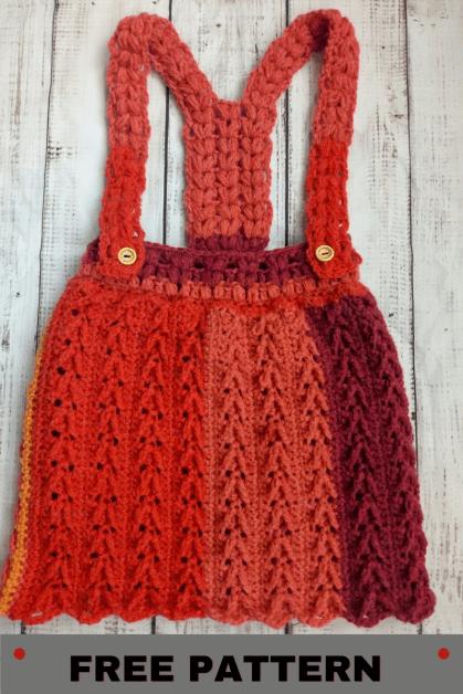 Easy Pinafore crochet pattern