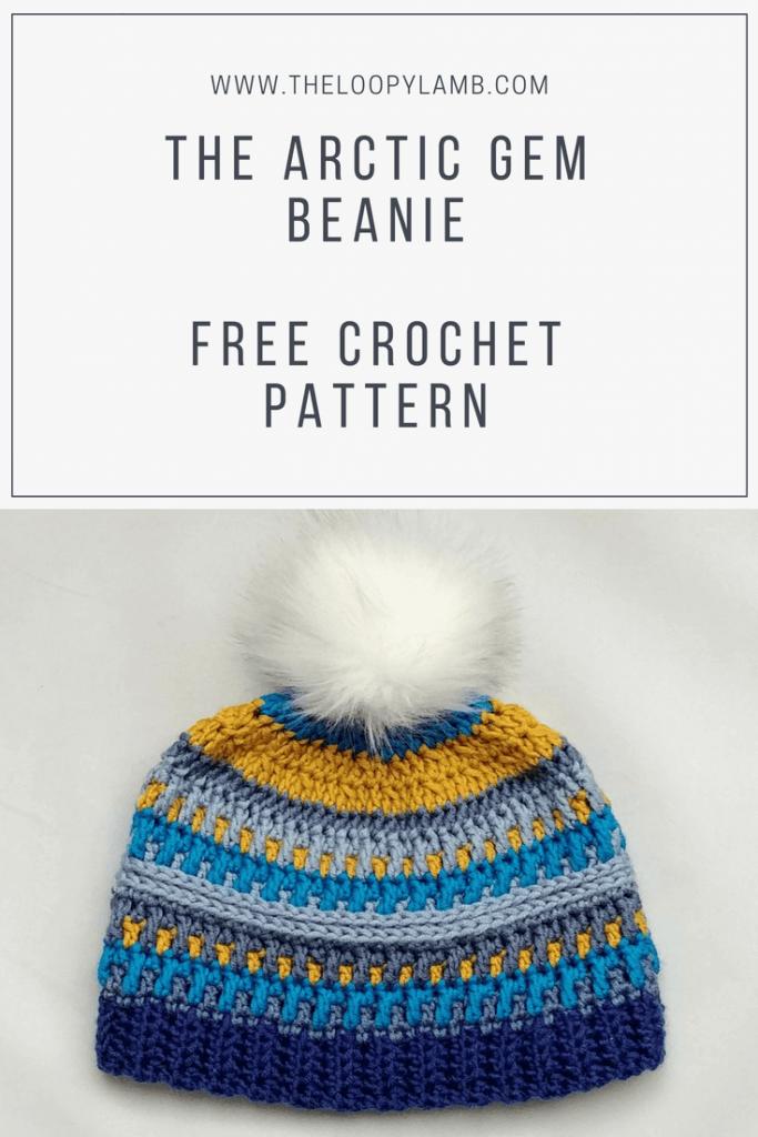 Free Crohet Beanie Pattern