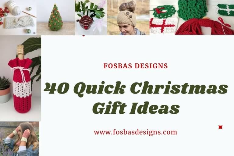 40 Quick makes: Free Christmas Crochet Patterns