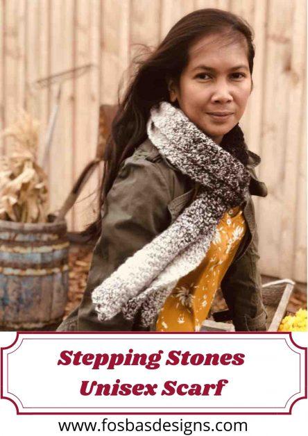 Stepping Stones Unisex Scarf