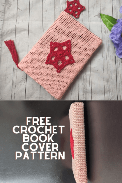 Crochet Book Cover Free Pattern.