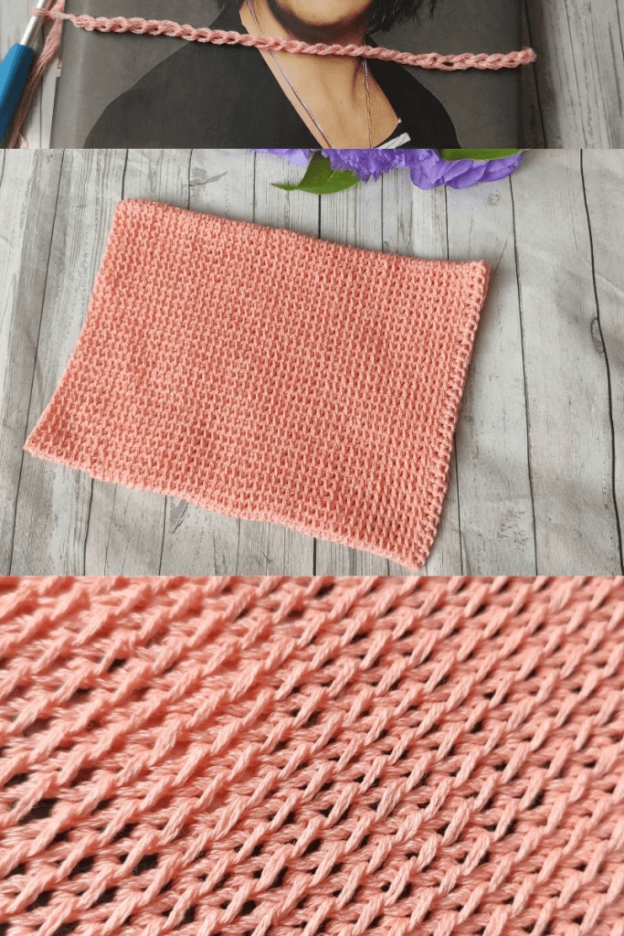 Free Crochet Book Cover Pattern with step by step pictures