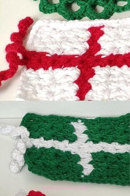 Crochet Present pattern