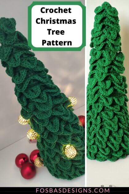 Crochet Christmas Tree Pattern as gift for your loved ones this Holiday.