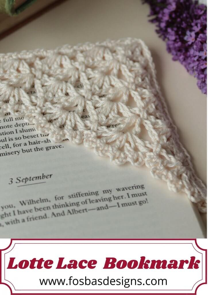 Crochet Lace Bookmark Pattern
