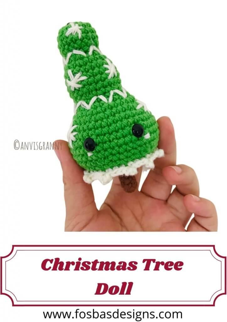 Crochet Christmas Doll Pattern