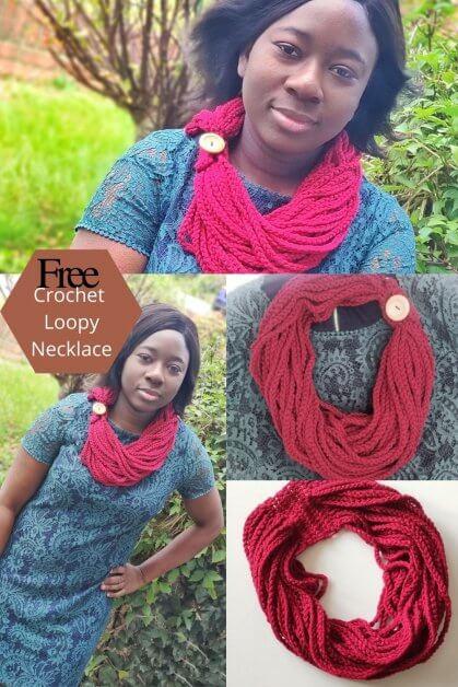 Crochet Jewelry: Free Loopy Necklace/cowl Pattern
