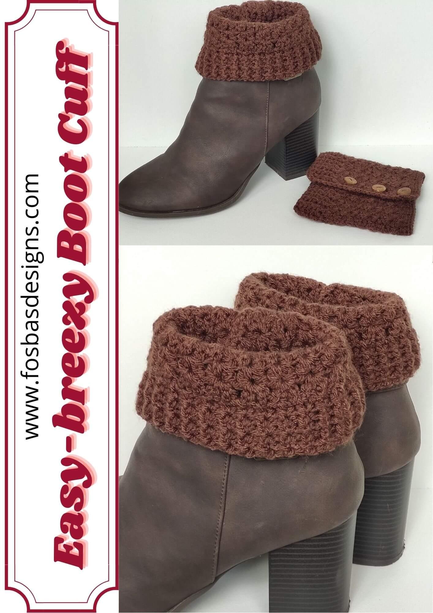 Easy breezy boot cuff pattern.