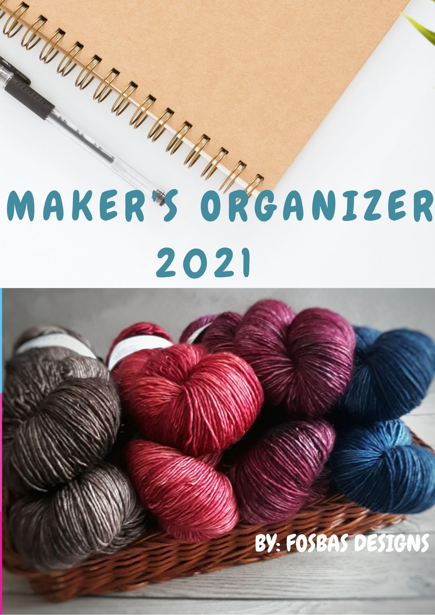 Crochet planner for 2021