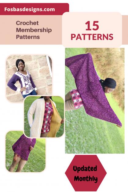 Crochet Membership Patterns