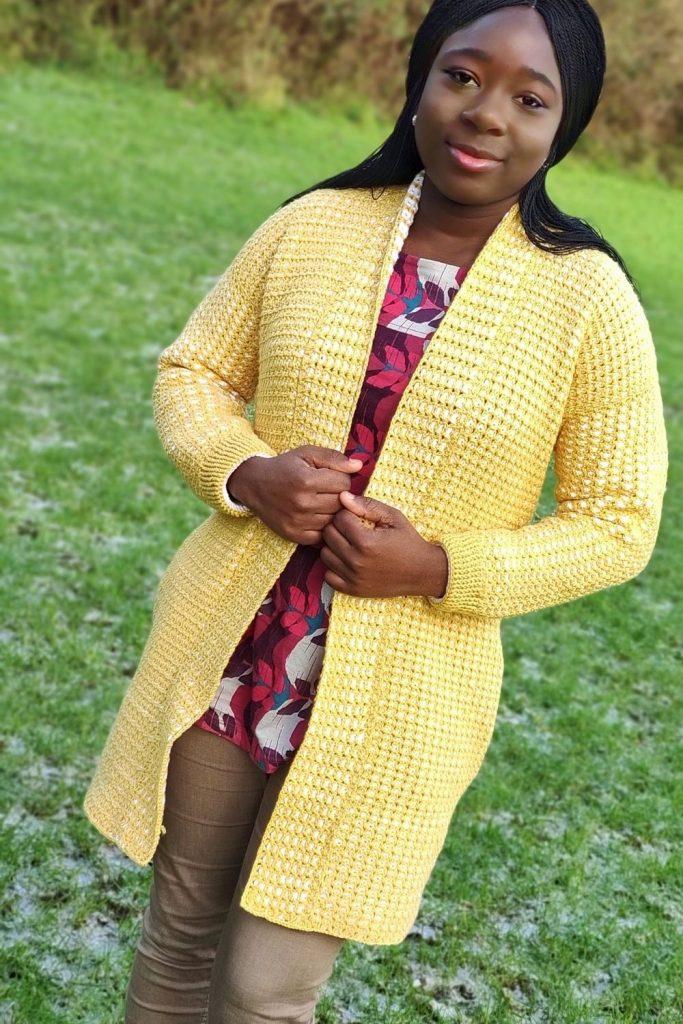 Crochet pattern - easy sweater tutorial