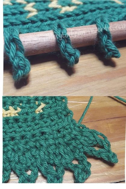 Free crochet wall hanging pattern