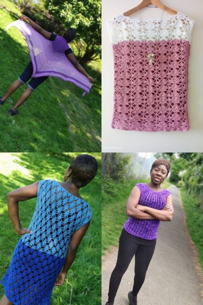 Easy Crochet Garment Patterns for Spring/Summer
