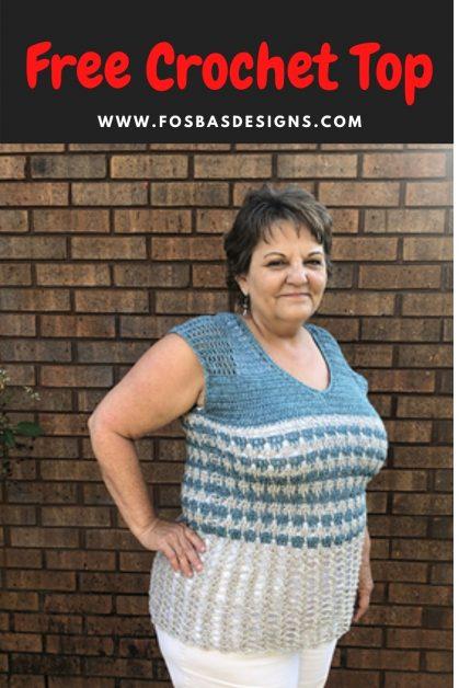 Crochet Reversible Top Pattern
