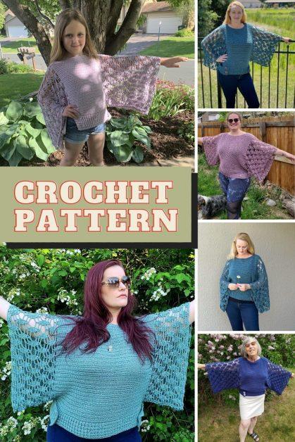 Easy crochet Top Pattern