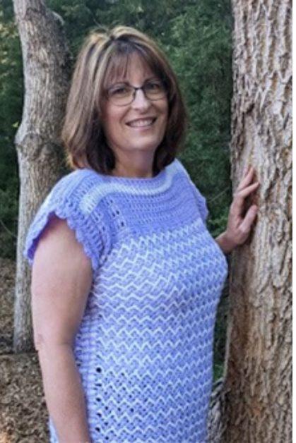 Crochet Lacy Top - Free Pattern