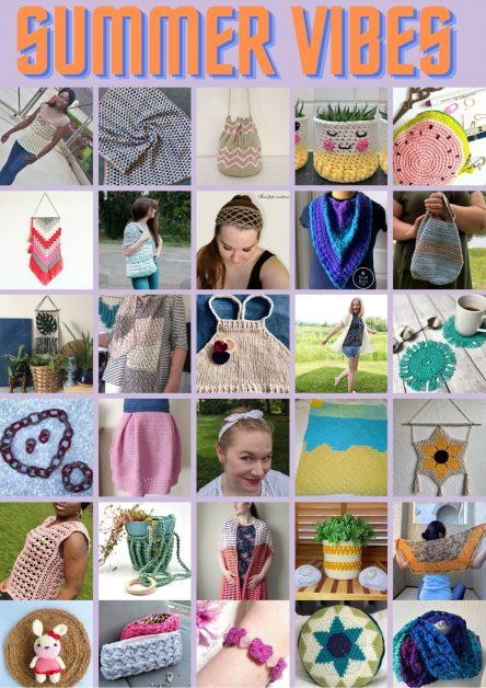 Easy Crochet Patterns for summer
