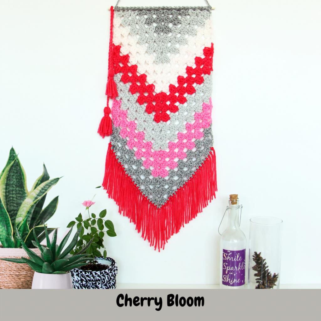 crochet wall hanger